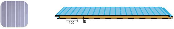 Обикновени фасадни термопанели (standart)
